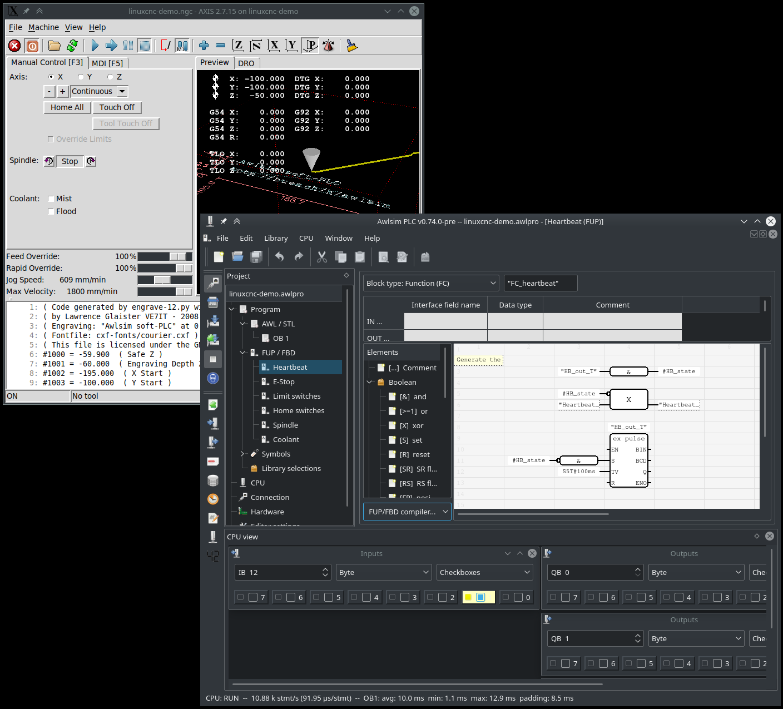 Awlsim: S7 compatible PLC / SPS