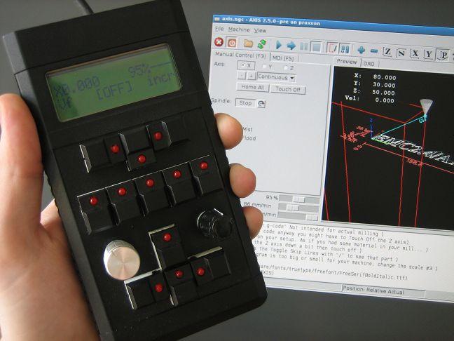 Open Source CNC remote control device